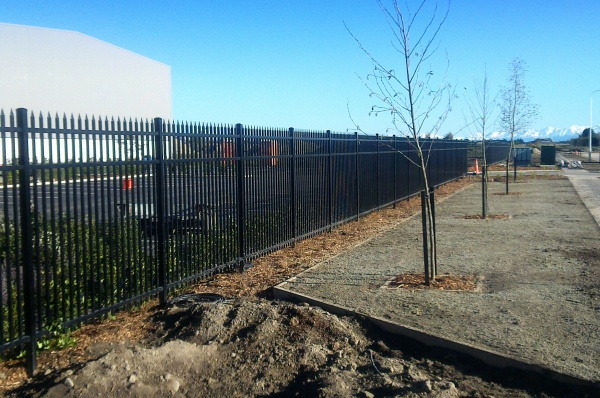 Commercial Defender Spear top security fence