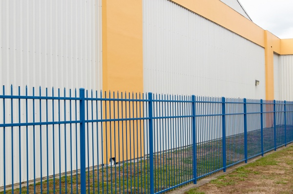 Commercial Spear Top security fence